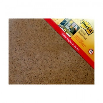 "3M 558 (18"" X 23"") POST IT Memoboard - Brown"