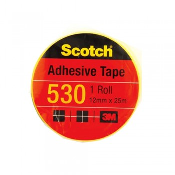 "3M Scotch 530 Tape 12mmx25m(1"" core)"