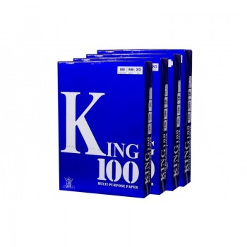 KING 100 A4 80gm Photostat Paper 500'S