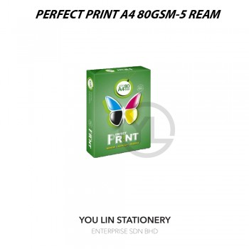 Perfect Print A4 80gsm (5 Ream)