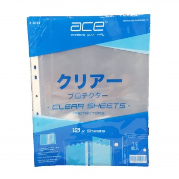ACE A3054 A4 Sheet Protector