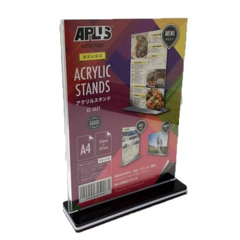 APLUS AS-5029 A4 Acrylic Stand