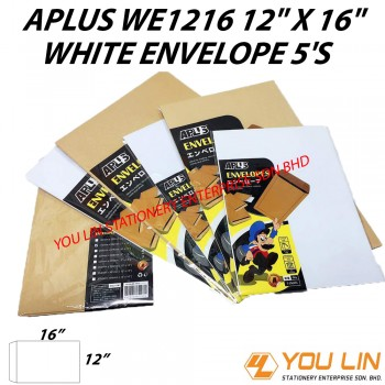 APLUS WE1216 White Envelope 5'S