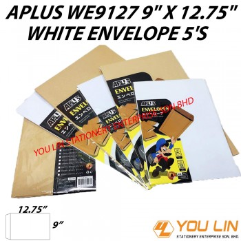 APLUS WE9127 White Envelope 5'S