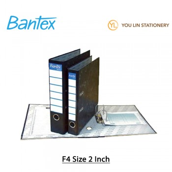 Bantex Basic F4 2 Inch Level Arch File With Index