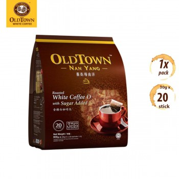 OLDTOWN Nan Yang White Coffee Roasted KOPI 2-in-1 With Sugar Added (12g x 20s)