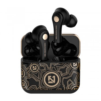 Lule Wireless Luxury Gold In-ear Bluetooth Head Set
