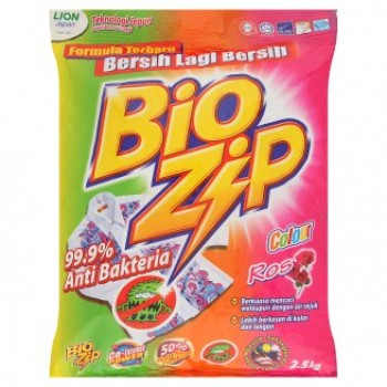 Bio Zip Colour Powder Detergent 2.5kg