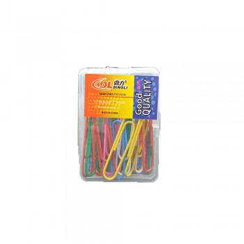 Dingli DL-260 Colour Paper Clip-50mm (5 boxes)