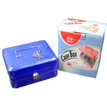 "Dingli WF9001 6"" Cash Box"