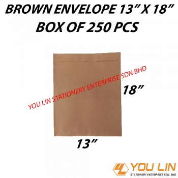 "Brown Envelope 13"" X 18"" (250 PCS)"