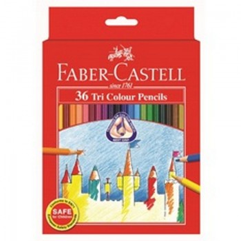 Faber Castell Tri-Grip Colour Pencil-36L