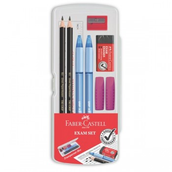 Faber Castell Exam Set In Clear Box #211140