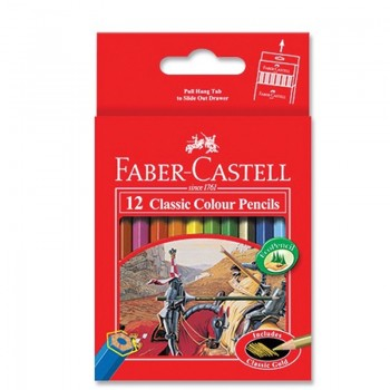 Faber Castell Classic Colouring Pencil-12S
