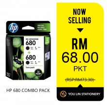 HP 680 Combo Pack (Promo)