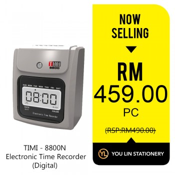 TIMI 8800N Electronic Time Recorder (Digital)-Promo
