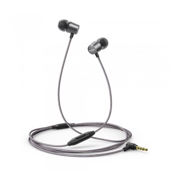 Anker SoundBuds Verve with built-in mic Stereo Wired Earphone Black + Gray