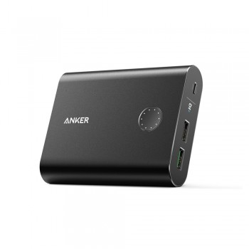 Anker A1316 PowerCore Power Bank + 13400mAh with Quick Charge 3.0 UN Black in Offline Packaging V3 (848061039665)