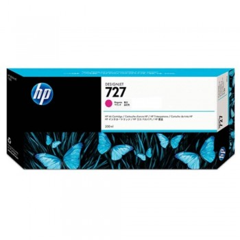 HP 727 300-ml Magenta DesignJet Ink Cartridge (F9J77A)