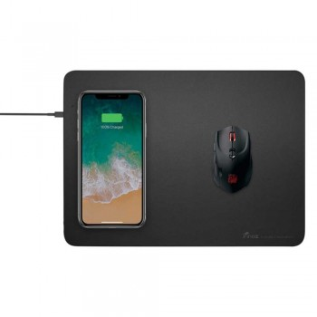 Innoz InnoQI 10W Wireless Fast Charging Mouse Pad - Gray