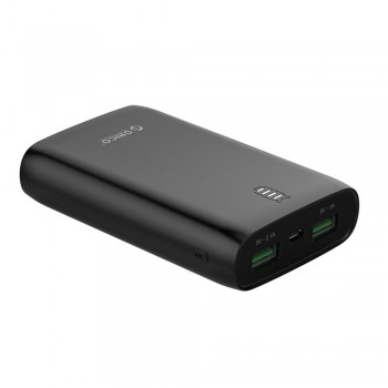 Orico Firefly M6 Power Bank 6000mAH - Black