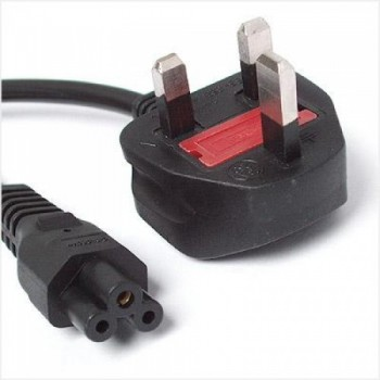 3 PIN UK to Laptop, Notebook Power Cable with Fuse 1.5 m (F647-1.5M)