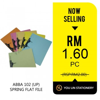 ABBA 102 (UP) Spring Flat File-Promo
