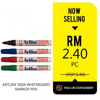 Artline 500A Whiteboard Marker - Promo