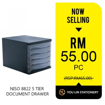NISO 8822 5 Tier Document Drawer-Promo