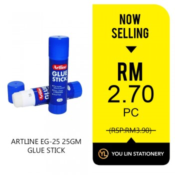 Artline 25gram Glue Stick - Promo