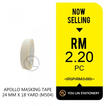 Apollo M504 Masking Tape 24mm-Promo
