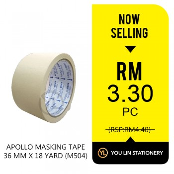 Apollo M504 Masking Tape 36mm-Promo