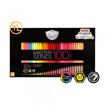 S.LINER Master Series 100 Colour Pencil