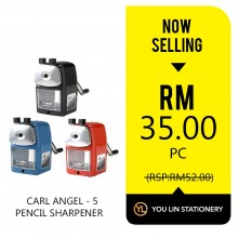 Carl Angel 5 Pencil Sharpener - Promo