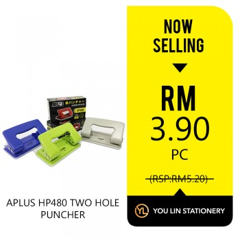 APLUS HP480 Two Hole Punch-Promo