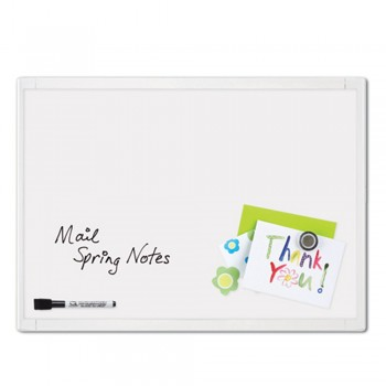 Quartet White Frame Magnetic Board 23x17 ( ITEM NO : G03-14 )