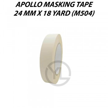 Apollo Masking Tape 24mm X 18Y (M504)