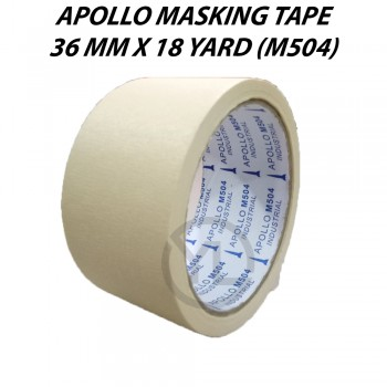 Apollo Masking Tape 36mm X 18Y (M504)