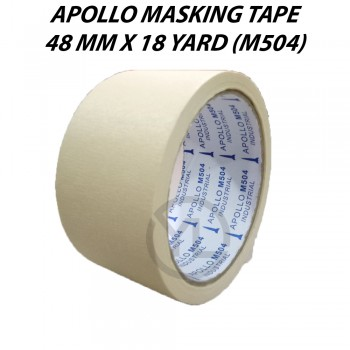 Apollo Masking Tape 48mm X 18Y (M504)