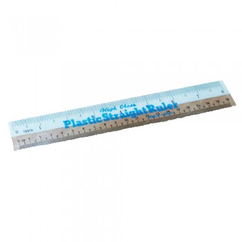 "8"" (20cm) White Side Ruler"