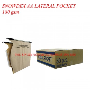 Snowdex 118 AA Lateral Filing Pocket (180gsm)