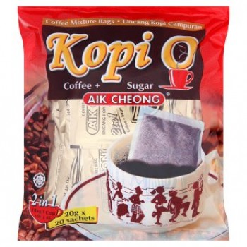 Aik Cheong Kopi O 2 In 1 Coffee Mixture Bags