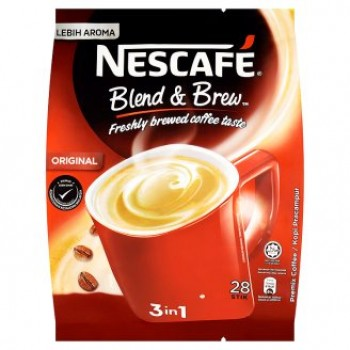 Nescafe 3 In 1 Original Blend & Brew Premix Coffee