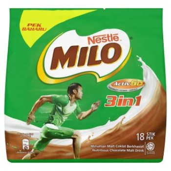 Milo Activ-Go 3 In 1 Chocolate Malt Drink