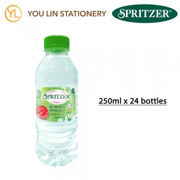 Spritzer Natural Mineral Water (250ML X 24)