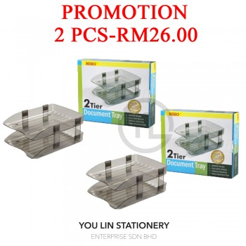 Niso 8220 2 Tier Document Tray (Promotion)