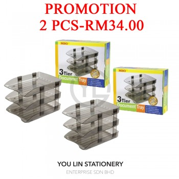 Niso 8230 3 Tier Document Tray (Promotion)
