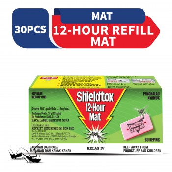 Shieldtox 12 Hours Mat Refill 30 pieces