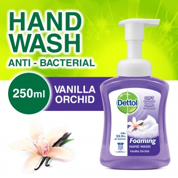 Dettol Foaming Hand Wash Vanilla 250ml