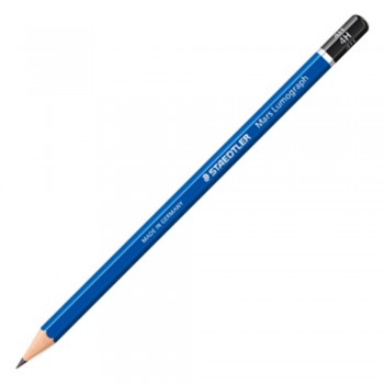Staedtler Mars Lumograph Pencil 12/Box-4H